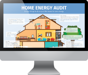 Home Energy Audit Infographic Mockup