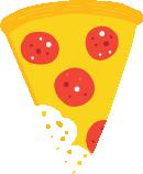 Pizza Slice Eaten