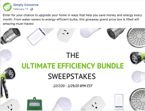 Sweepstakes Example 2
